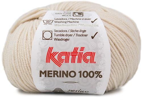 Katia Merino 100% 500 Light beige