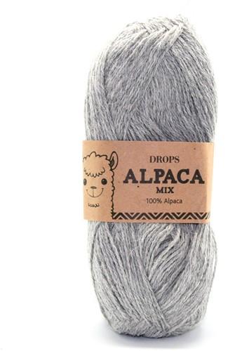 Drops Alpaca Mix 501 Lichtgrijs-mix