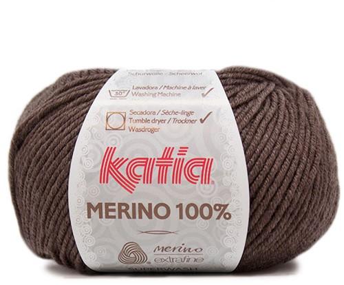 Katia Merino 100% 502 Medium brown