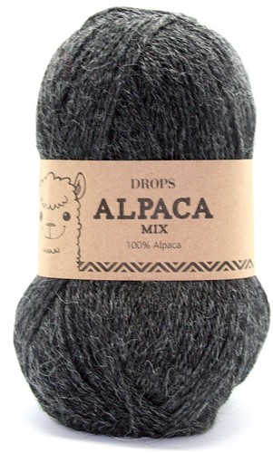 Drops Alpaca Mix 506 Antraciet