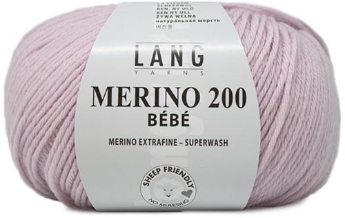 Lang Yarns Merino 200 Bebe 509 Light Rose