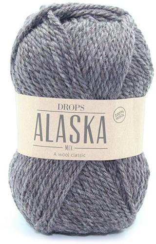 Drops Alaska 50 Donkerbruin-mix