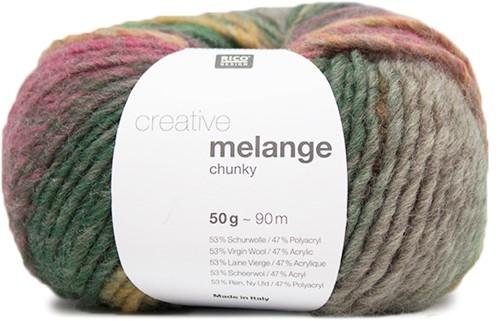 Rico Creative Melange Chunky 050 Purple-Green