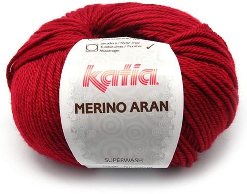 Katia Merino Aran 51 Light maroon