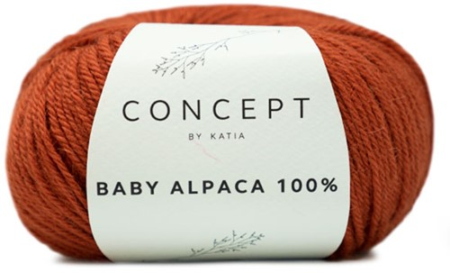Katia Baby Alpaca 100 % 520 Rust