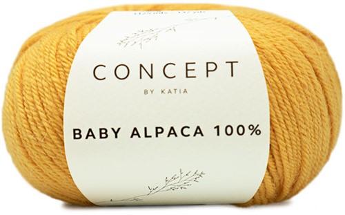 Katia Baby Alpaca 100 % 521 Yellow