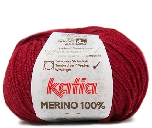 Katia Merino 100% 52 Maroon