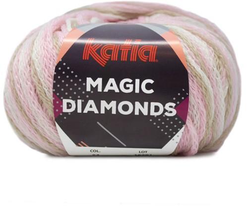 Katia Magic Diamonds 054 Light Pink / Ecru / Beige
