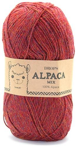 Drops Alpaca Mix 5565 Licht-kastanje-rood