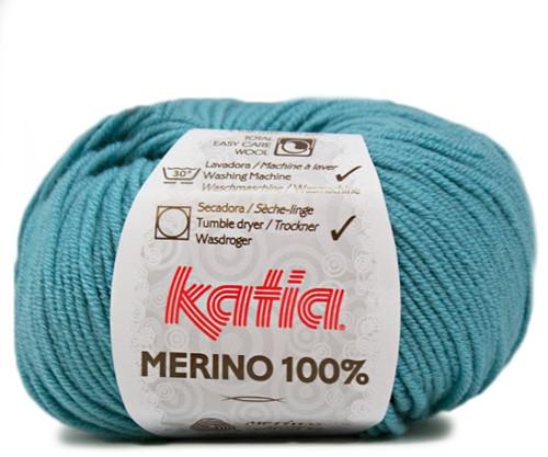 Katia Merino 100% 55 Türkis