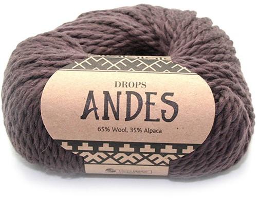 Drops Andes Uni Colour 5610 Bruin