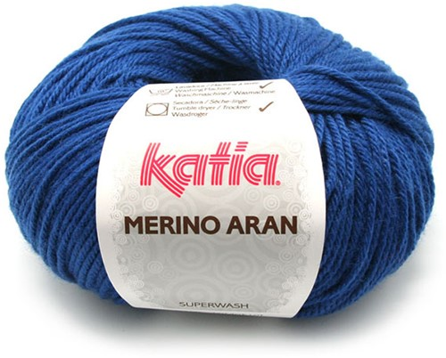Katia Merino Aran 57 Night blue