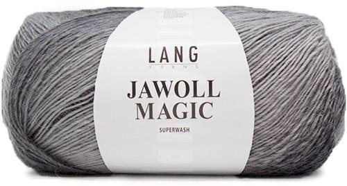 Lang Yarns Jawoll Magic 5 Dark Gray