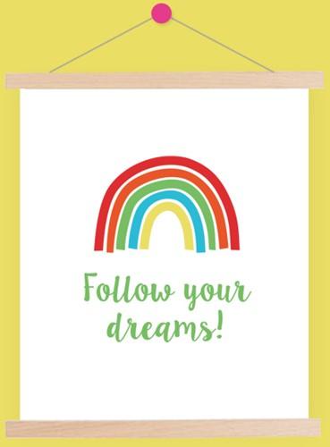 Wolplein Regenboog Poster 6 Colorful