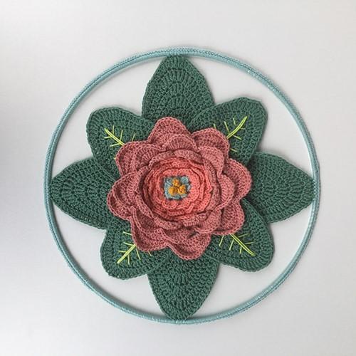 Haakpatroon Flower Mandala