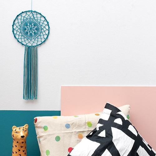 Yarn and Colors Must-Have Mandala Haakpakket 1 Petrol Blue / Eucalyptus