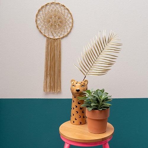 Yarn and Colors Must-Have Mandala Haakpakket 3 Gold / Cream