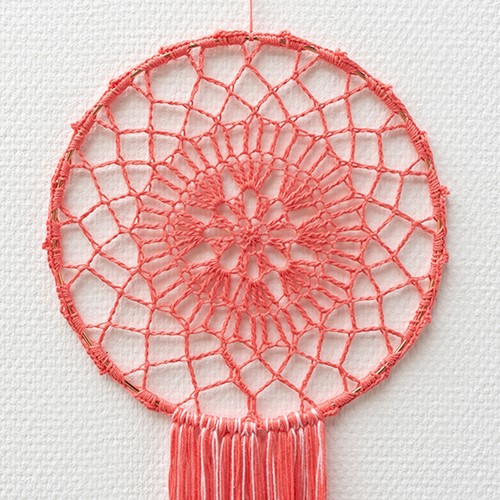 Yarn and Colors Must-Have Mandala Haakpakket 2 Pink Sand / Blossom