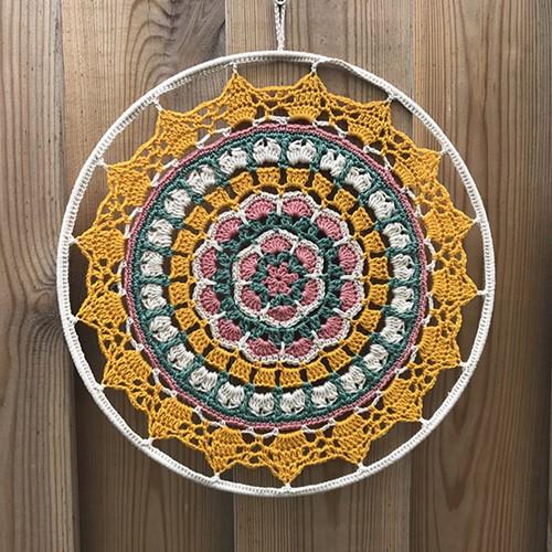 Haakpatroon Zonnige Mandala