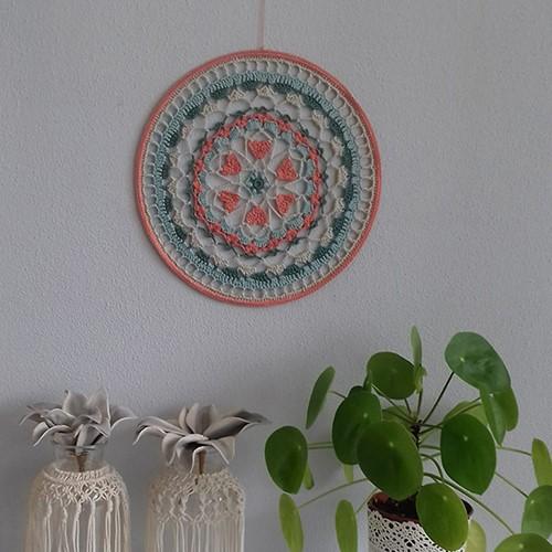 Haakpatroon Hartjes Mandala