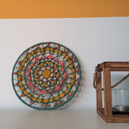 Haakpatroon Root and Blossom Mandala