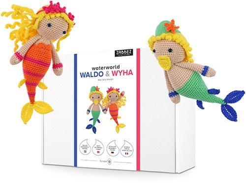 Zabbez Mermaids Waldo & Wyha Haakpakket