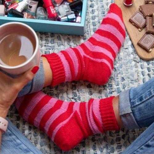 Breipatroon Stripy Socks