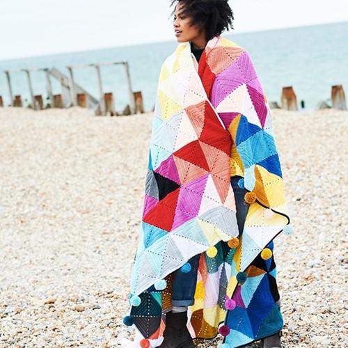 Tessellation Deken Haakpakket 1 Spring Colours Colourway