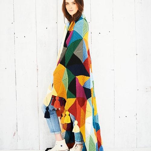 Tessellation Deken Haakpakket 2 Autumn Colours Colourway