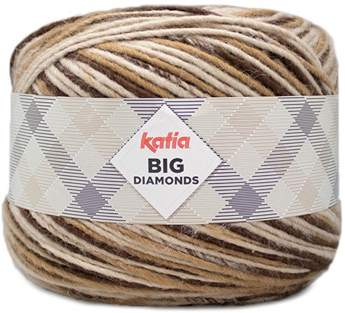 Katia Big Diamonds 601 Medium Beige/Beige/Brown
