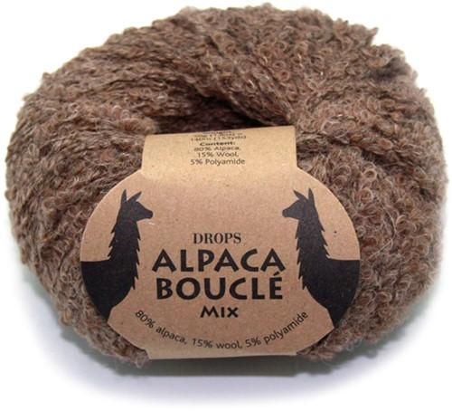Drops Alpaca Bouclé Mix 602 Bruin