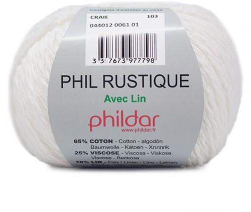 Phildar Phil Rustique 61 Craie