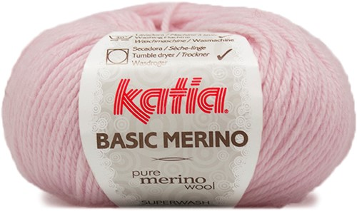 Katia Basic Merino 62 Light pink