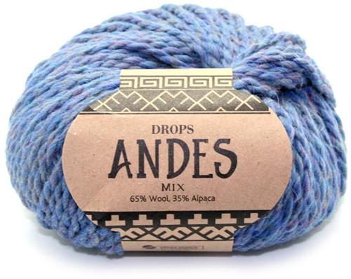 Drops Andes Mix 6343 Avondblauw