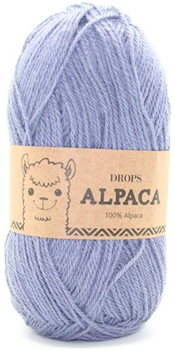 Drops Alpaca Uni Colour 6347 Grijspaars