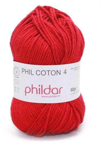 Phildar Phil Coton 4 1272 Griotte