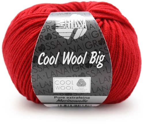 Lana Grossa Cool Wool Big 648 Carmine Red