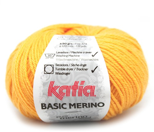 Katia Basic Merino 64 Yellow
