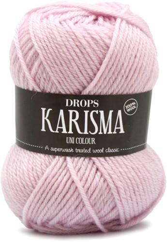 Drops Karisma Uni Colour 66 Light-dusty-pink
