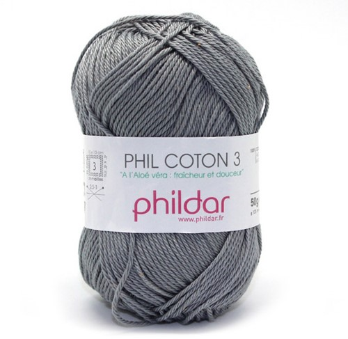 Phildar Phil Coton 3 1399 Elephant
