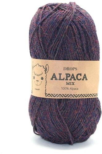 Drops Alpaca Mix 6736 Marineblauw/paars
