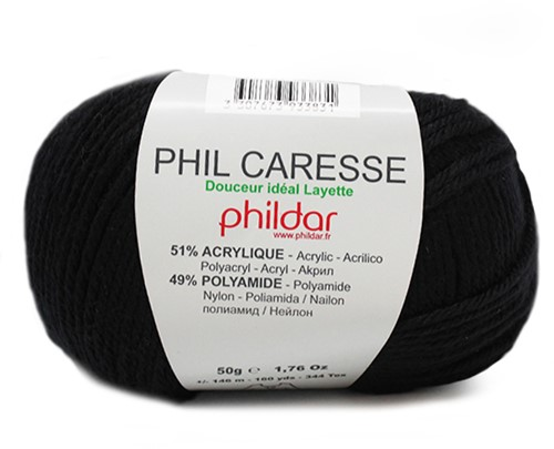 Phildar Phil Caresse 1200 Noir