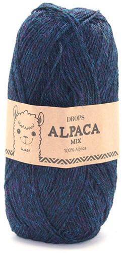 Drops Alpaca Mix 6834 Blauw/turkoois