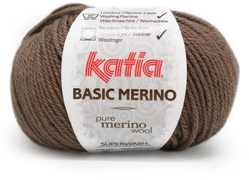 Katia Basic Merino 68 Fawn brown