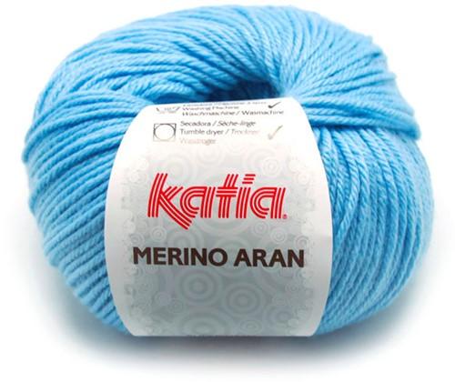Katia Merino Aran 68 Sky blue