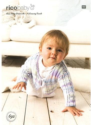 Rico Flyer Baby Dream DKBaby Ajourvestje