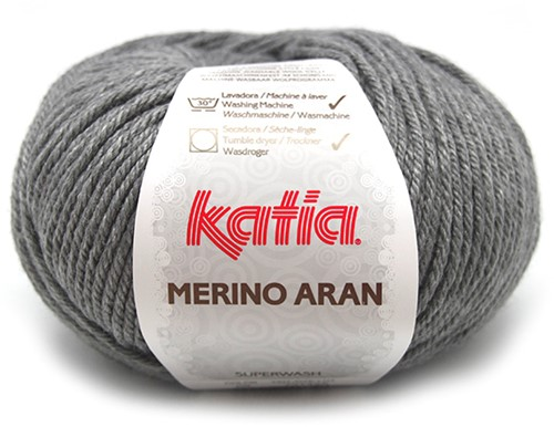 Katia Merino Aran 69 Medium grey