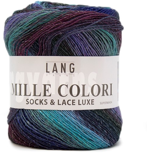 Lang Yarns Mille Colori Socks & Lace Luxe 06