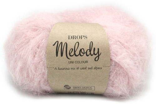 Drops Melody Uni Colour 06 Powder-pink