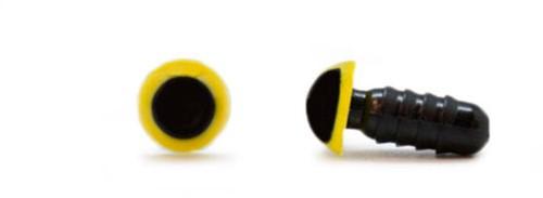 Veiligheidsogen Geel 6mm per paar